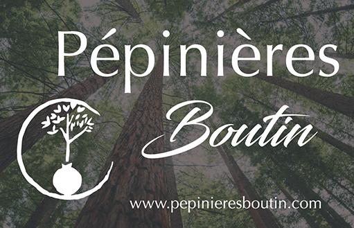 Affiches et carte de visite pour les Pépinières Boutin