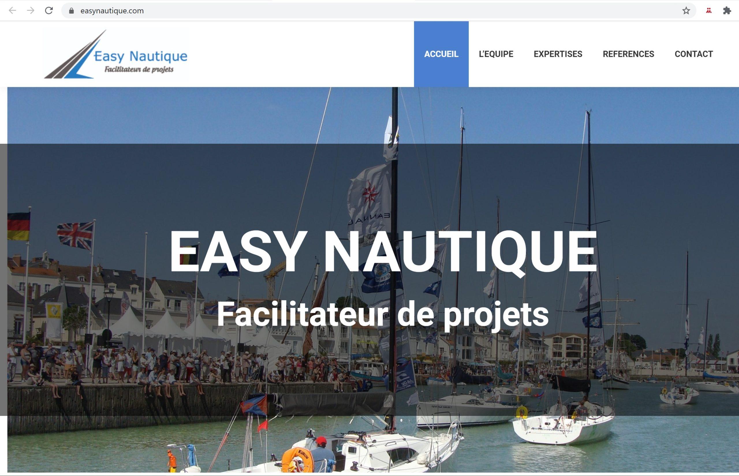 Site Internet «Easy Nautique»